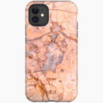 Blaz Orange Marble iPhone Cover