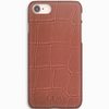 Light Pink Croc iPhone Case