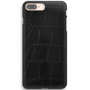 Black Croc iPhone Case