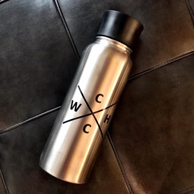 ***SALE*** Stainless Steel WHCC Logo 51oz. Water Bottle