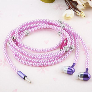 Luxury Fashion Pearl Necklace Earbuds! - ENJOY TRENDY