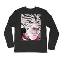 [ TONY II ] *Handdrawn Print Limited Edition Long Sleeve Fitted Crew - FTATEHIG