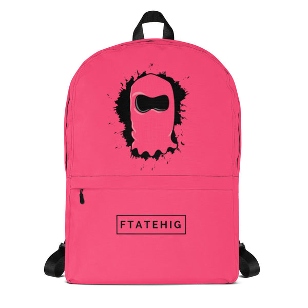 [ Splat ] Limited Edition Backpack - FTATEHIG Pink - FTATEHIG
