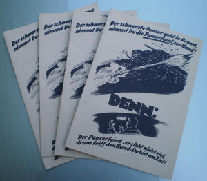Panzerfaust Leaflets