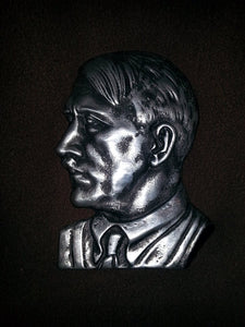 Adolf Hitler Metal Plaque
