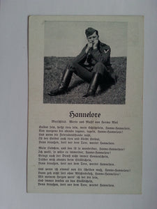 """Hannelore"" Song Postcard"