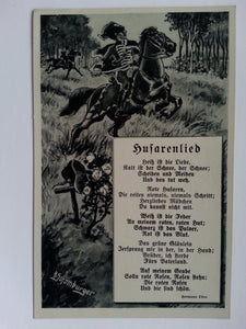 """Husarenlied"" Song Postcard"