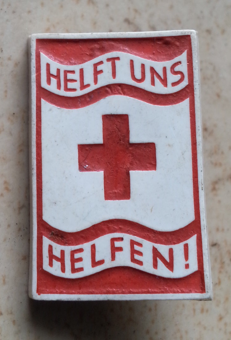 WHW Red Cross Badge