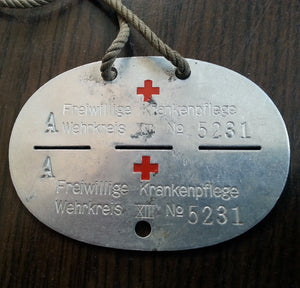 Deutsche Rotes Kreuz Dog Tag