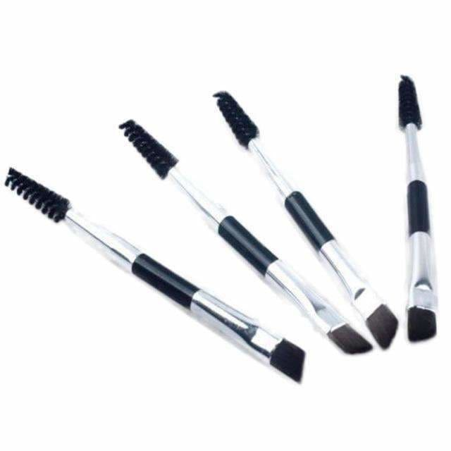 Double-Headed Eyebrow Brush Black / Local