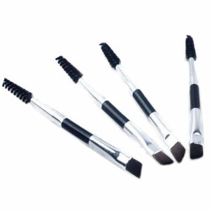 Double-headed Eyebrow Brush - Sequel Beauty