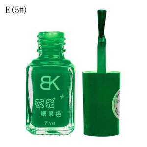 Glow In The Dark Nail Polish E5