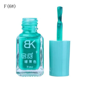 Glow In The Dark Nail Polish F6