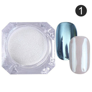 Nail Glitter Powder Color 1
