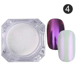 Nail Glitter Powder Color 4