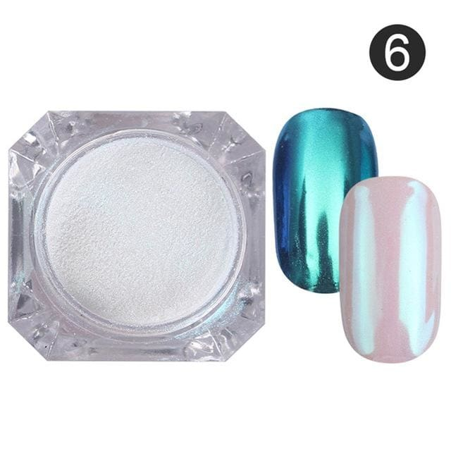 Nail Glitter Powder Color 6