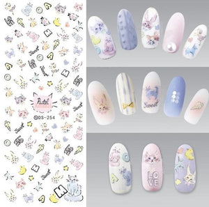 Nails Art Stickers Ds254