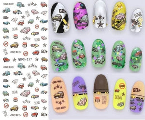 Nails Art Stickers Ds257