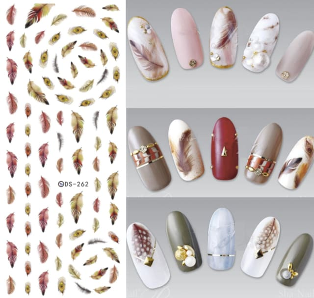 Nails Art Stickers Ds262