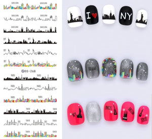 Nails Art Stickers Ds268