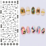 Nails Art Stickers Ds272