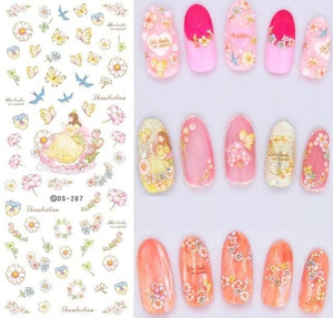 Nails Art Stickers Ds287
