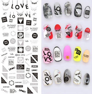 Nails Art Stickers Ds294