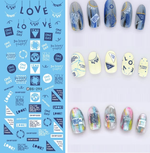 Nails Art Stickers Ds295