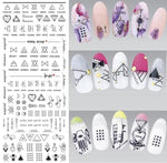 Nails Art Stickers Ds306