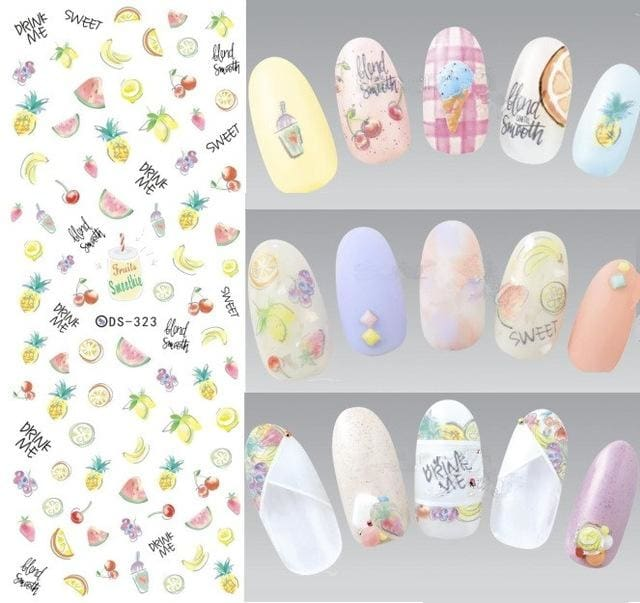 Nails Art Stickers Ds323