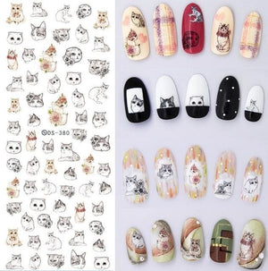 Nails Art Stickers Ds380