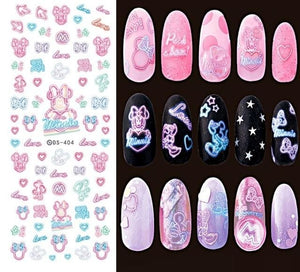Nails Art Stickers Ds404