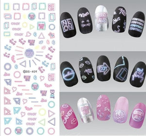 Nails Art Stickers Ds409