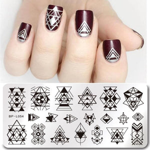 Rectangle Nail Arts