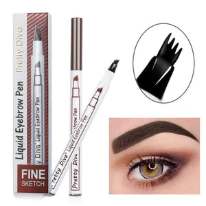 Waterproof Fork Tip Eyebrow Tattoo Pen - Sequel Beauty