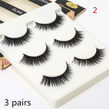Winged False Eyelashes - Sequel Beauty