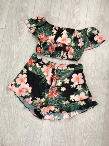 Ruffle Two Piece