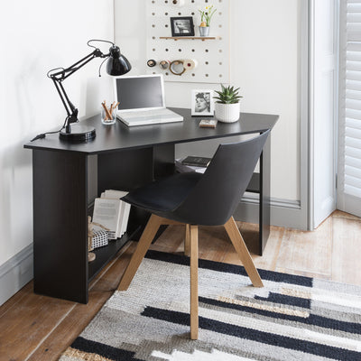 Black Corner Desk - Laura James
