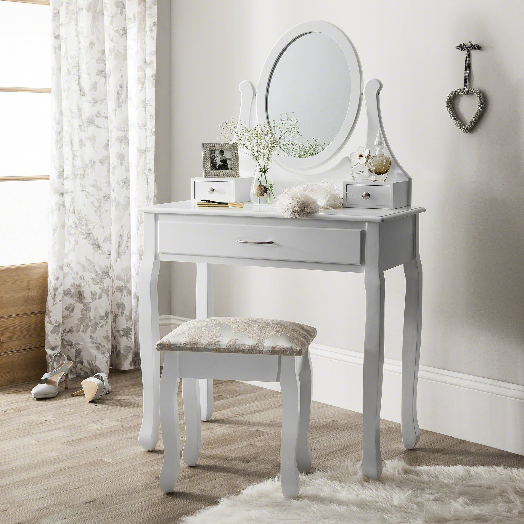 amalfi dressing table mirror stool set rh laura james co uk James and James Great Britain James and the Giant Peach