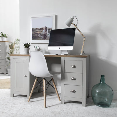 Grey Desk - Bampton - Laura James