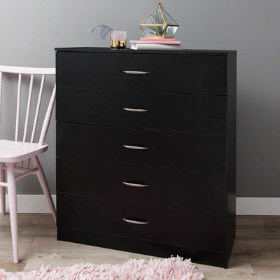Chest of Drawers - Black - Laura James