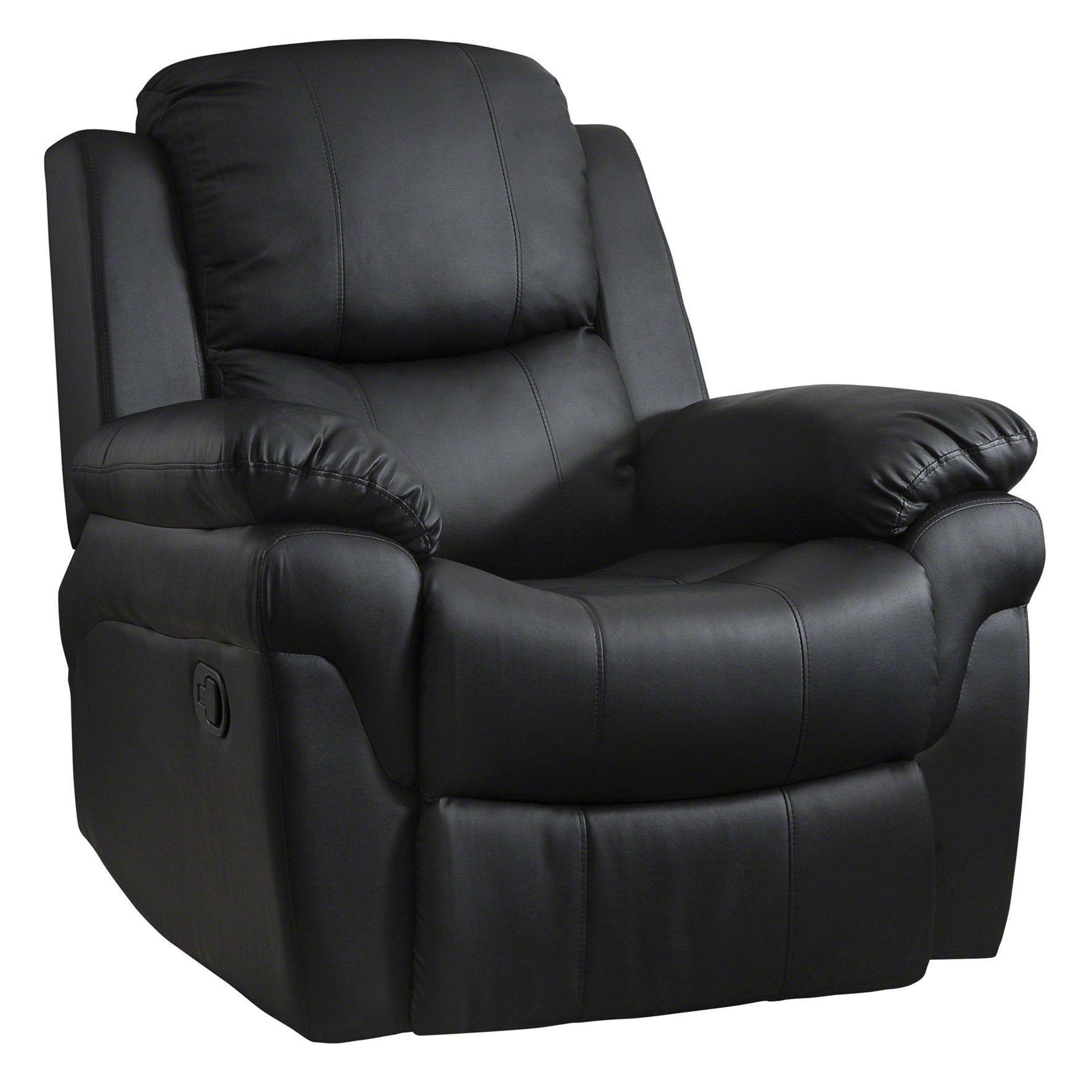 leather chair black ezra executive
