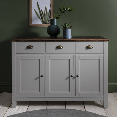 Chatsworth Sideboard in Grey - Laura James