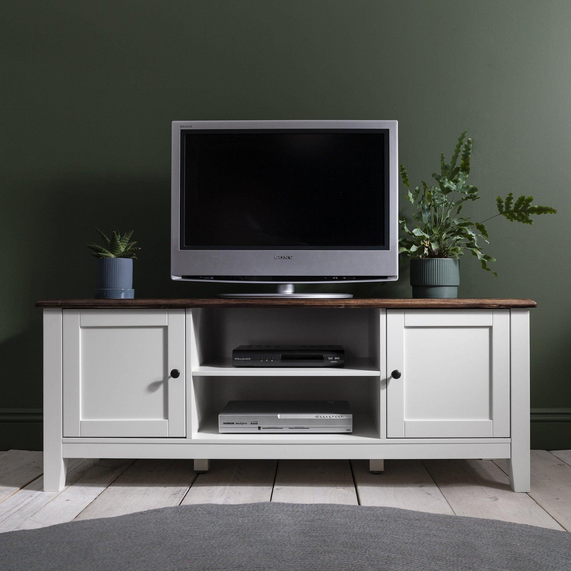 TV Unit with storage - Chatsworth - Laura James