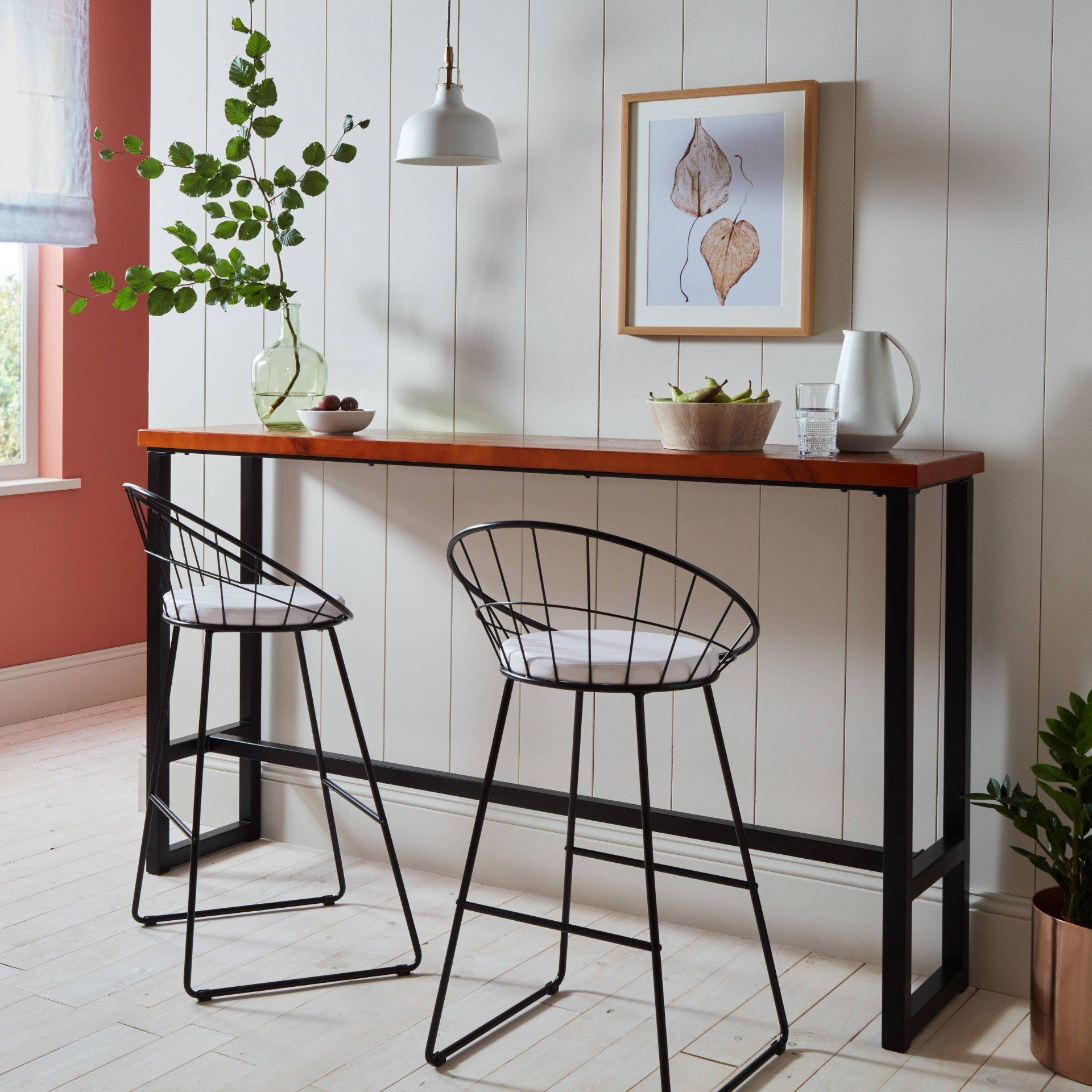 Jimmy bar table and stools - Laura James