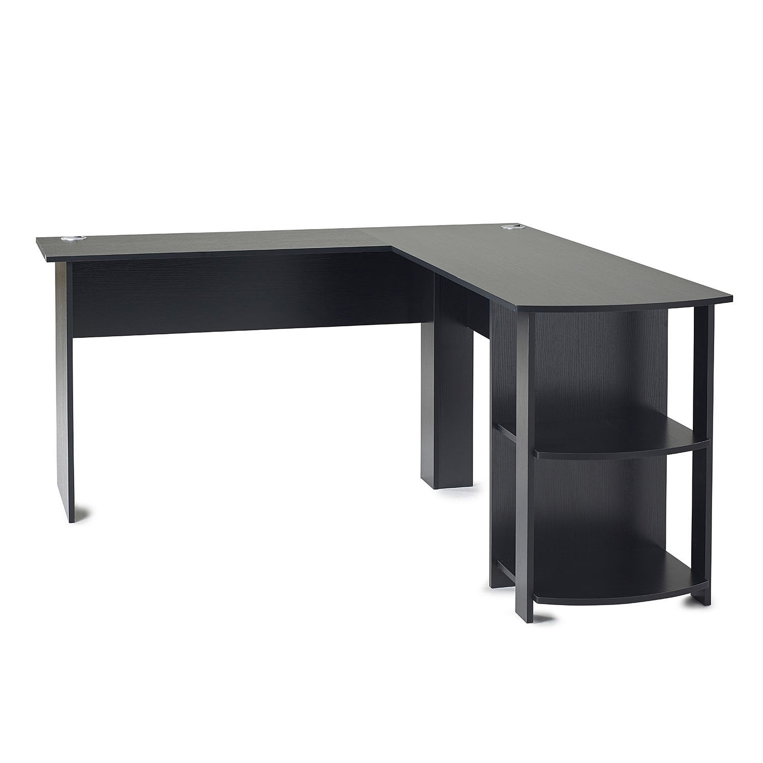 Corner Desk Black Laura James