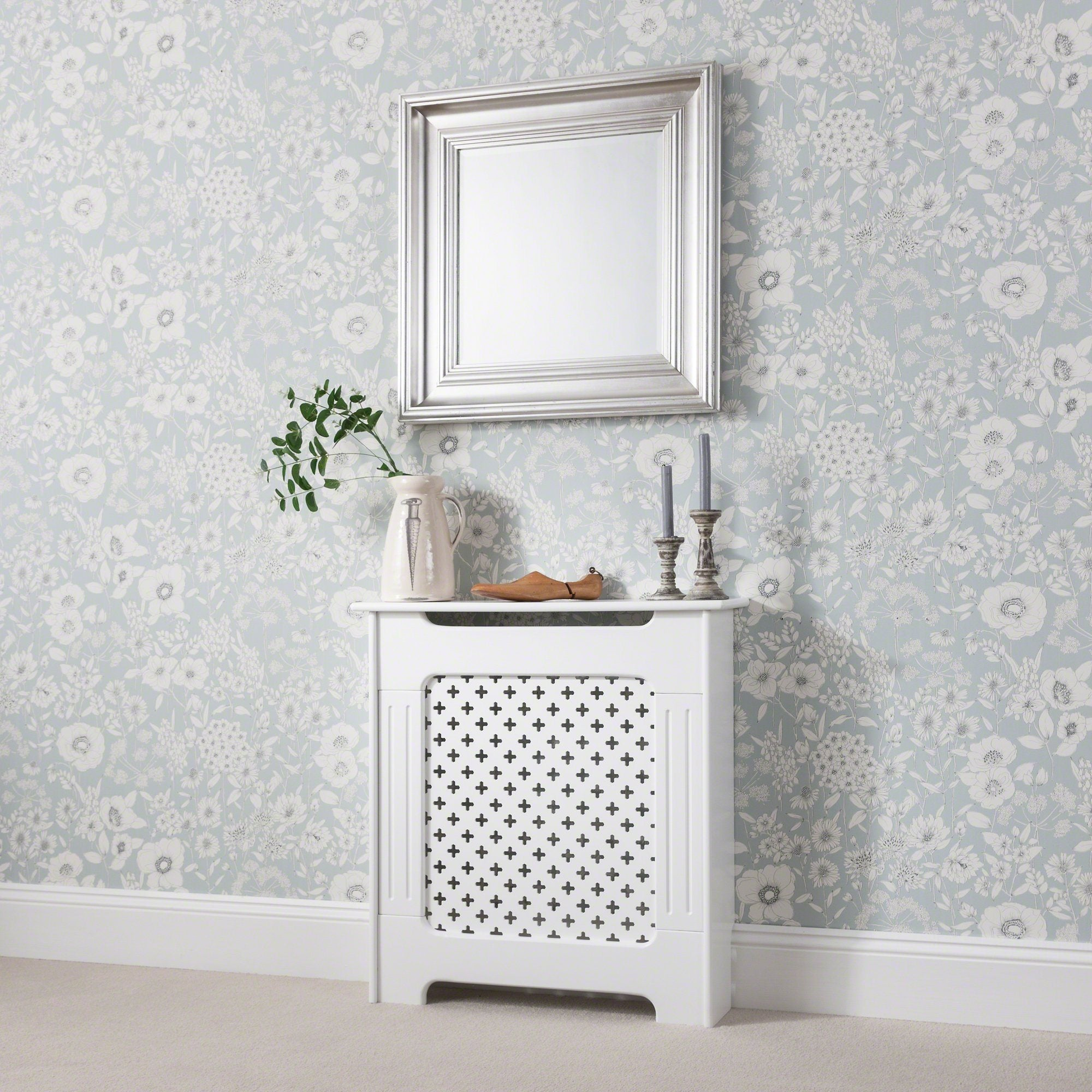 Radiator Cover White Painted Small Delivery On Or Before 19 February Laura James