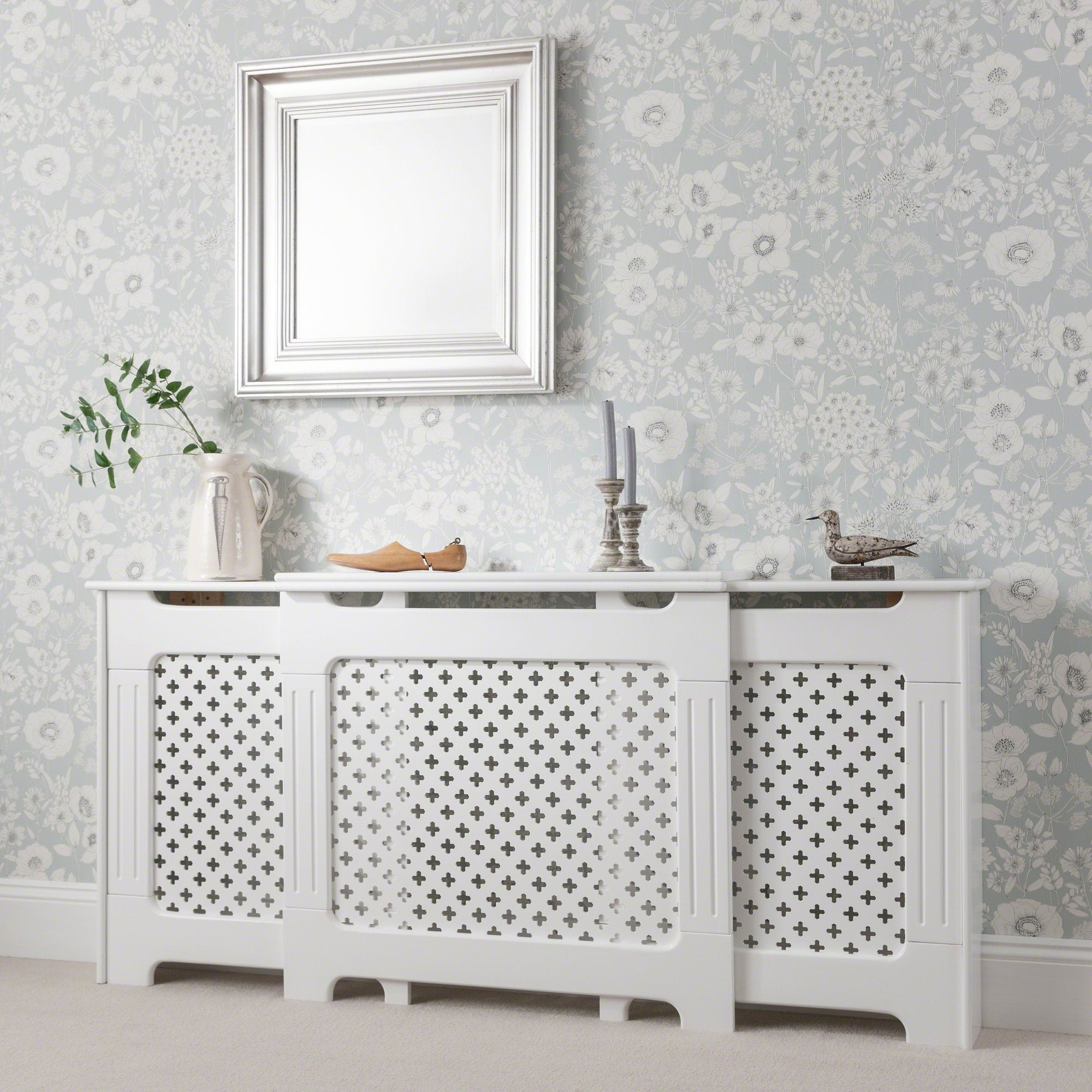 White Radiator Cover Adjustable Delivery On Or Before 19 February Laura James