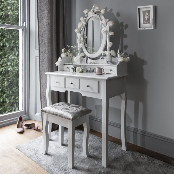 Fairy Lights To Complement Your Dressing Table Laura James