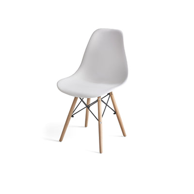Inge White Eames Inspired Chair x 4 - Laura James